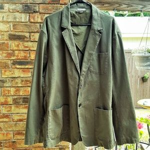 Goodfellow & Co Men's Cotton Blazer NWOT